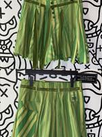 """Marithe Francois Girbaud Designer Green Skirt 34"""""""