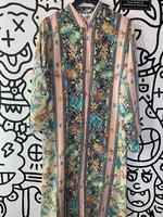 Sante Vintage Pink Zip Dress S