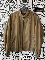 Vintage London Fog Brown Zip Jacket L