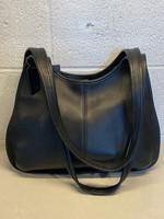Coach Vintage Black Leather Handbag