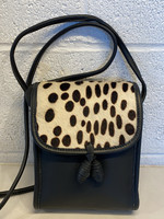 Celini Handbags USA Black Leather Crossbody