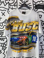 NWT Kyle Busch Nascar White Tee 2XL