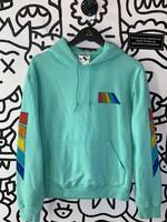 Free & Easy Blue Hoodie (Retail: $88) S