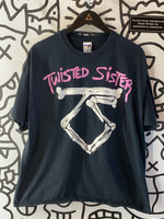 Twisted Sister Early '00s Black Tee XL