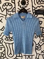 Vintage Sheridan Blue Schoolgirl Sweater Top S