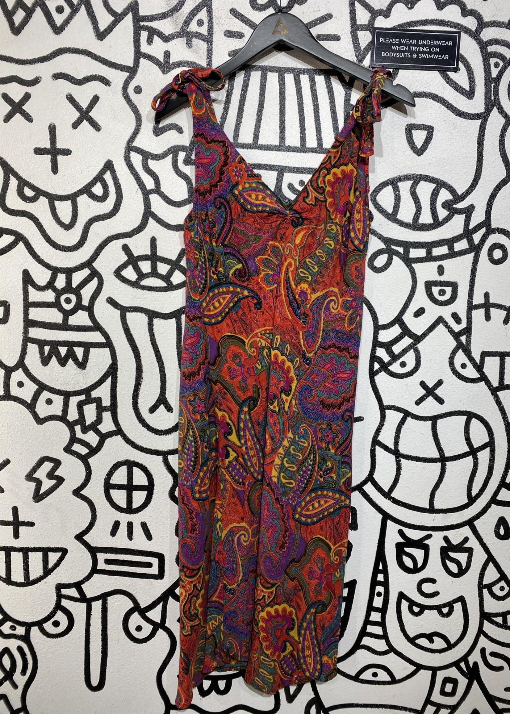 Reversal USA Vintage Multicolor Paisley Dress XL