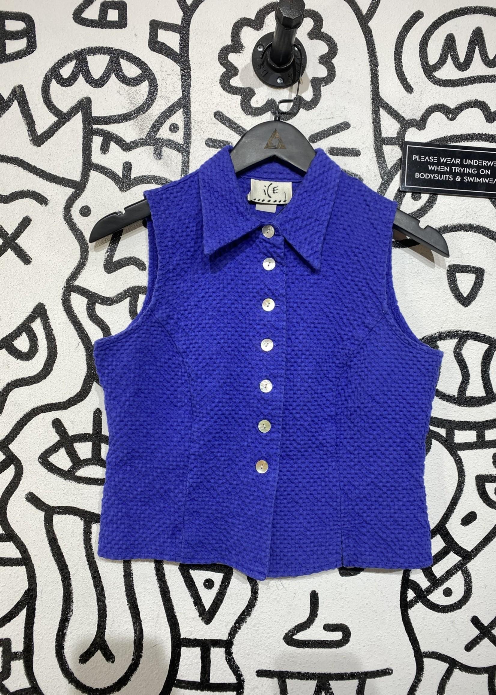 Vintage Ice Purple Vest M