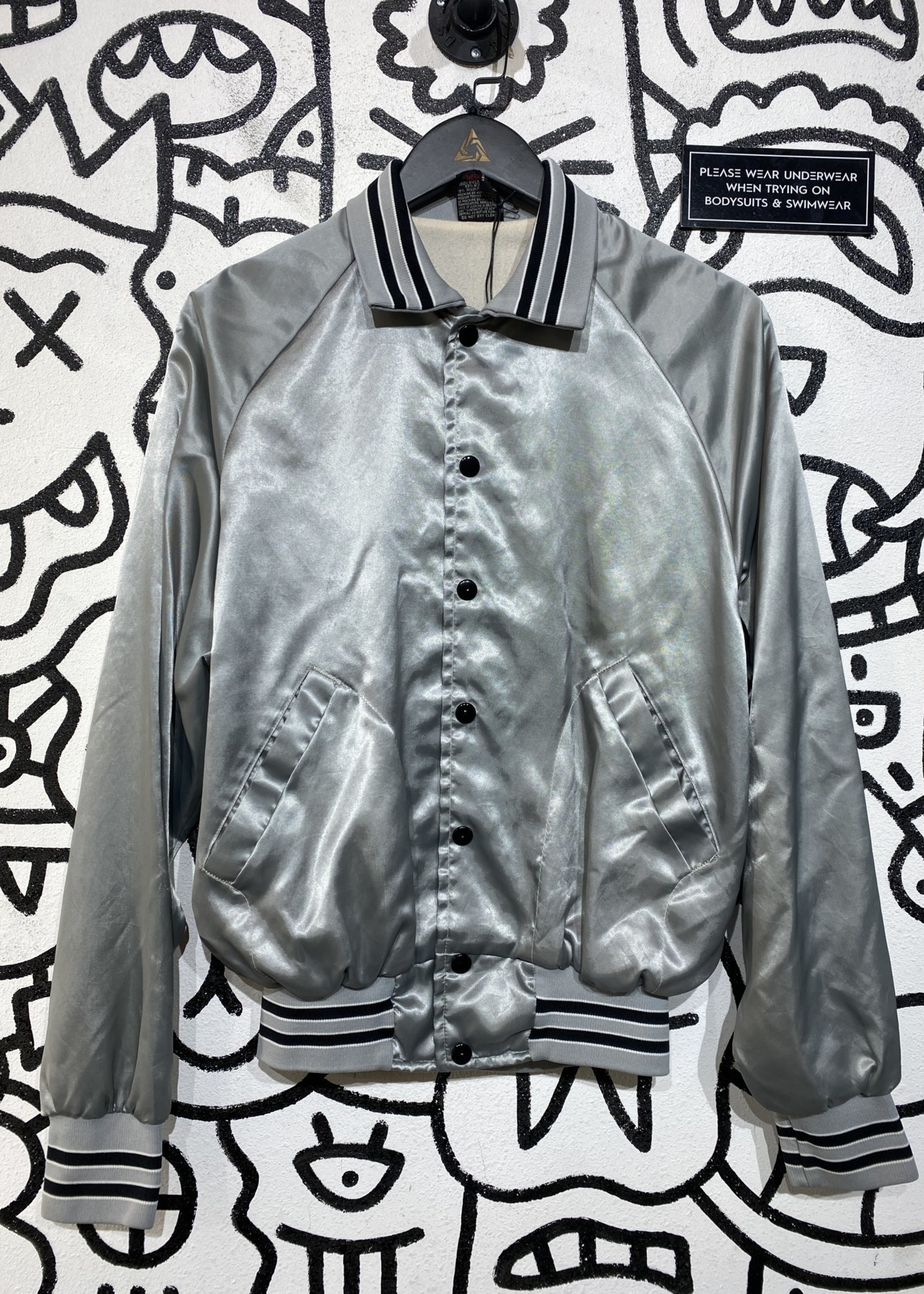 Vintage Silver IATSE Jacket M