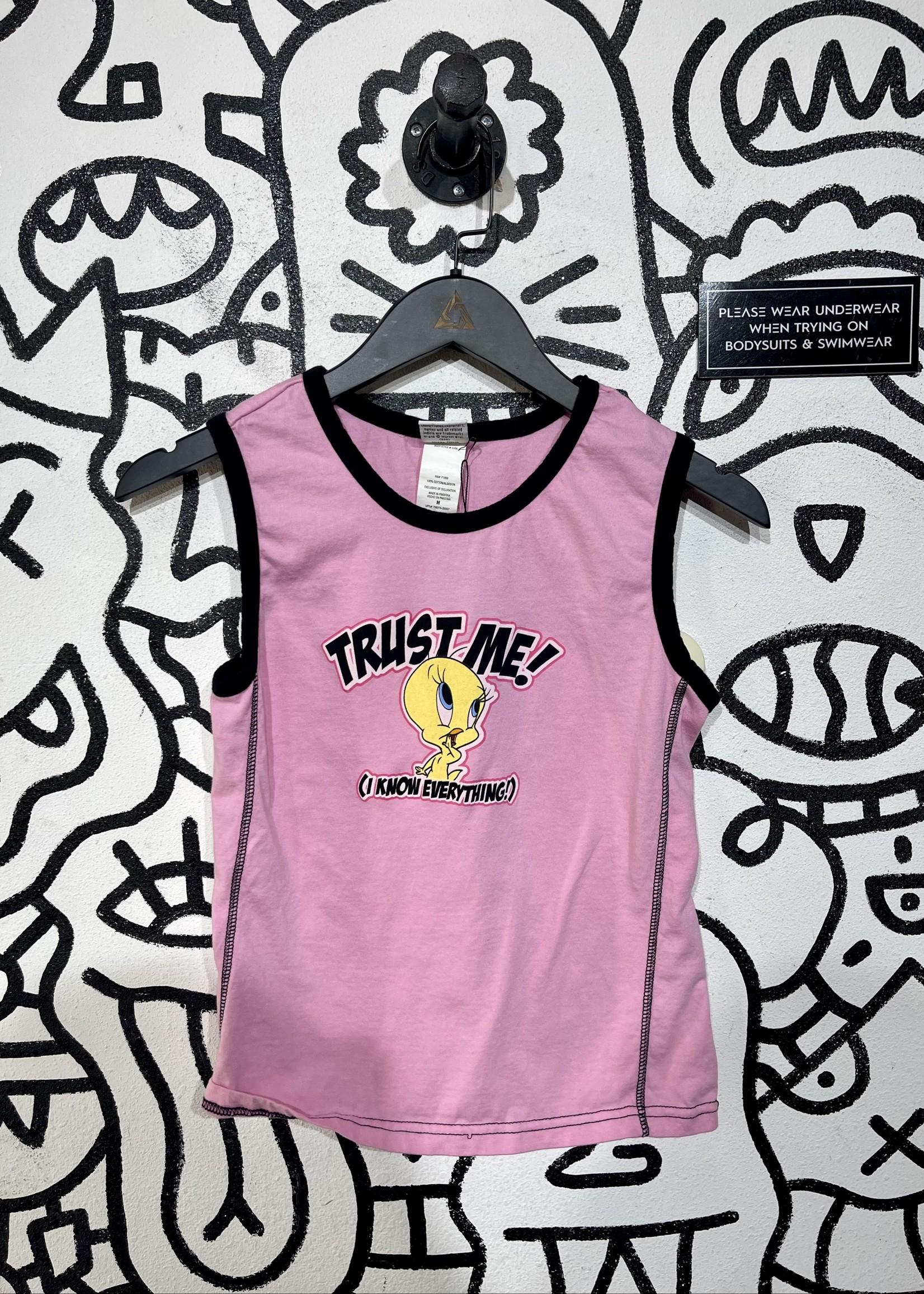Vitnage tweety pink set M