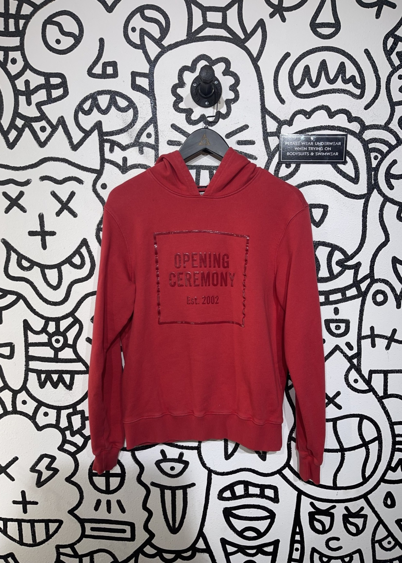Opening Ceremony Red Hoodie XS (Retail: $165)