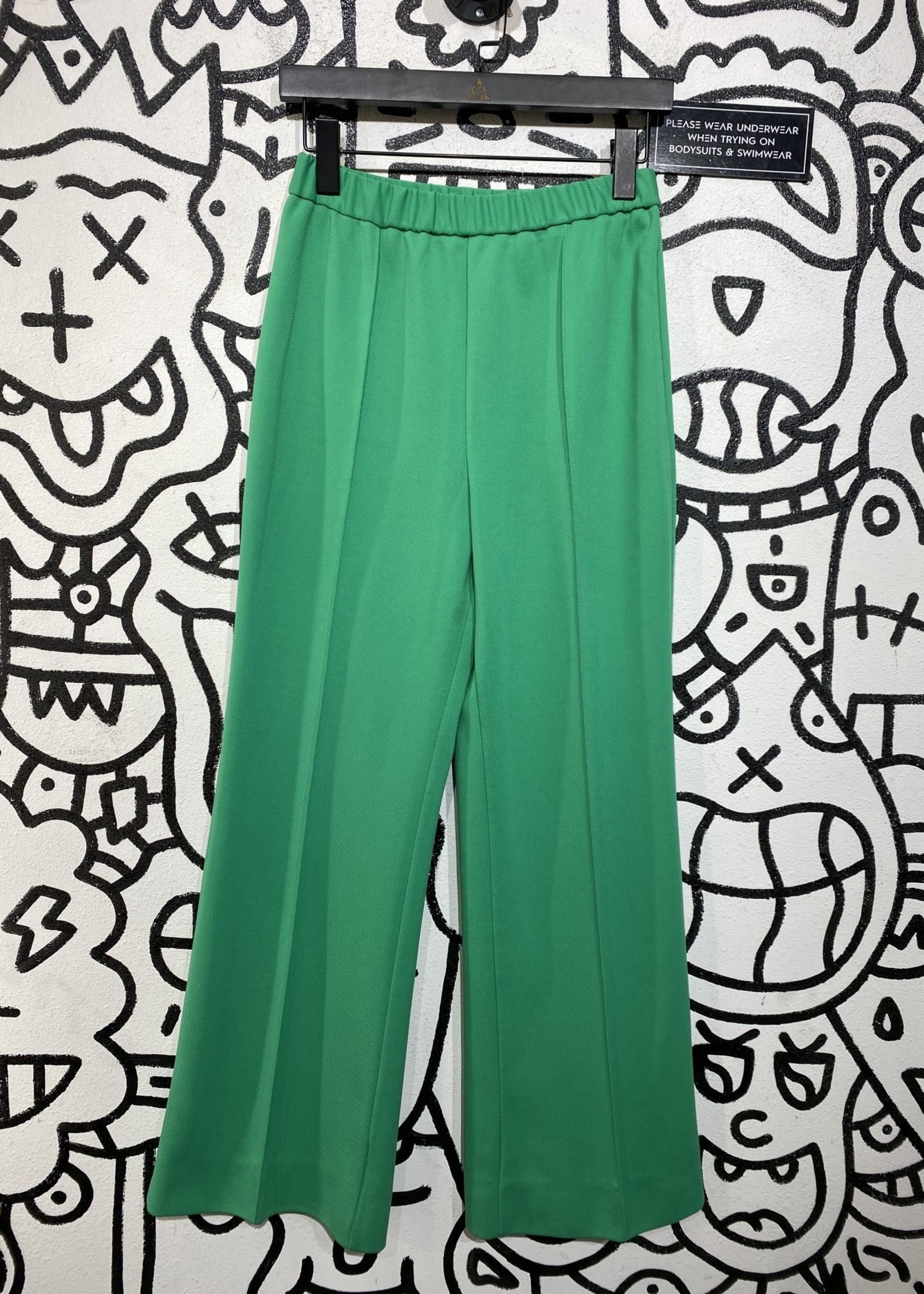 Alex coleman green flare trousers 26