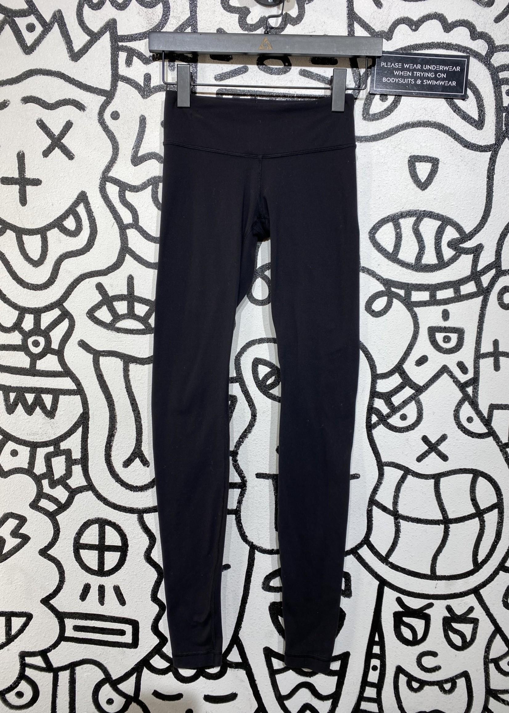 Lululemon black long soft leggings 2