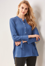 Charlie Paige CP - Tie Sleeve Long Blouse