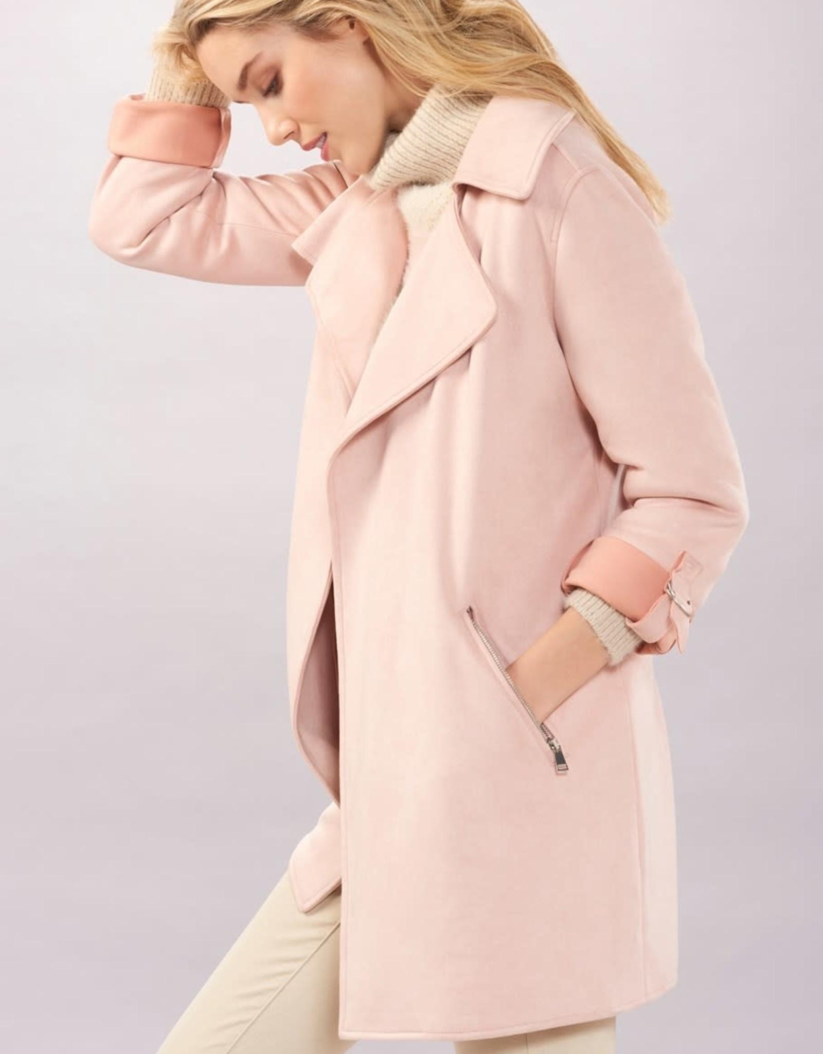 Charlie Paige CP - Soft Faux Suede Coat