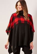 Charlie Paige CP - Cowl Neck Poncho