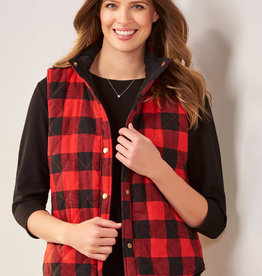 Charlie Paige CP - Reversible Quilted Vest