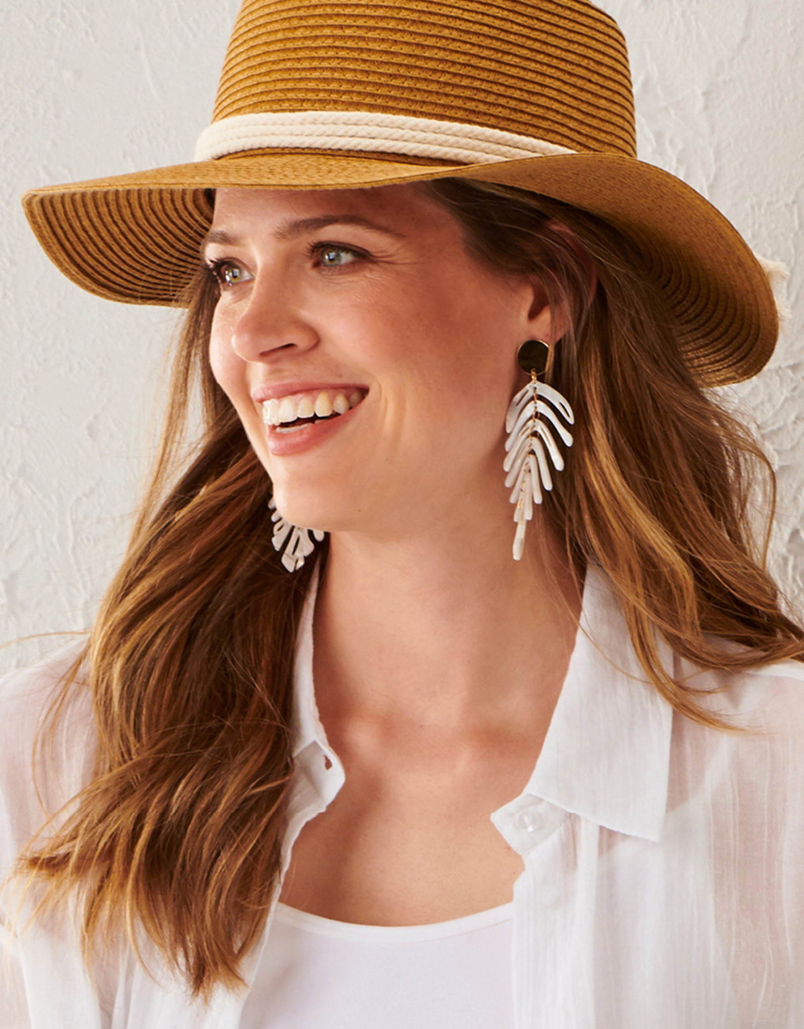 Charlie Paige CP - Paper Rope & Ring Hat (2 Colors)