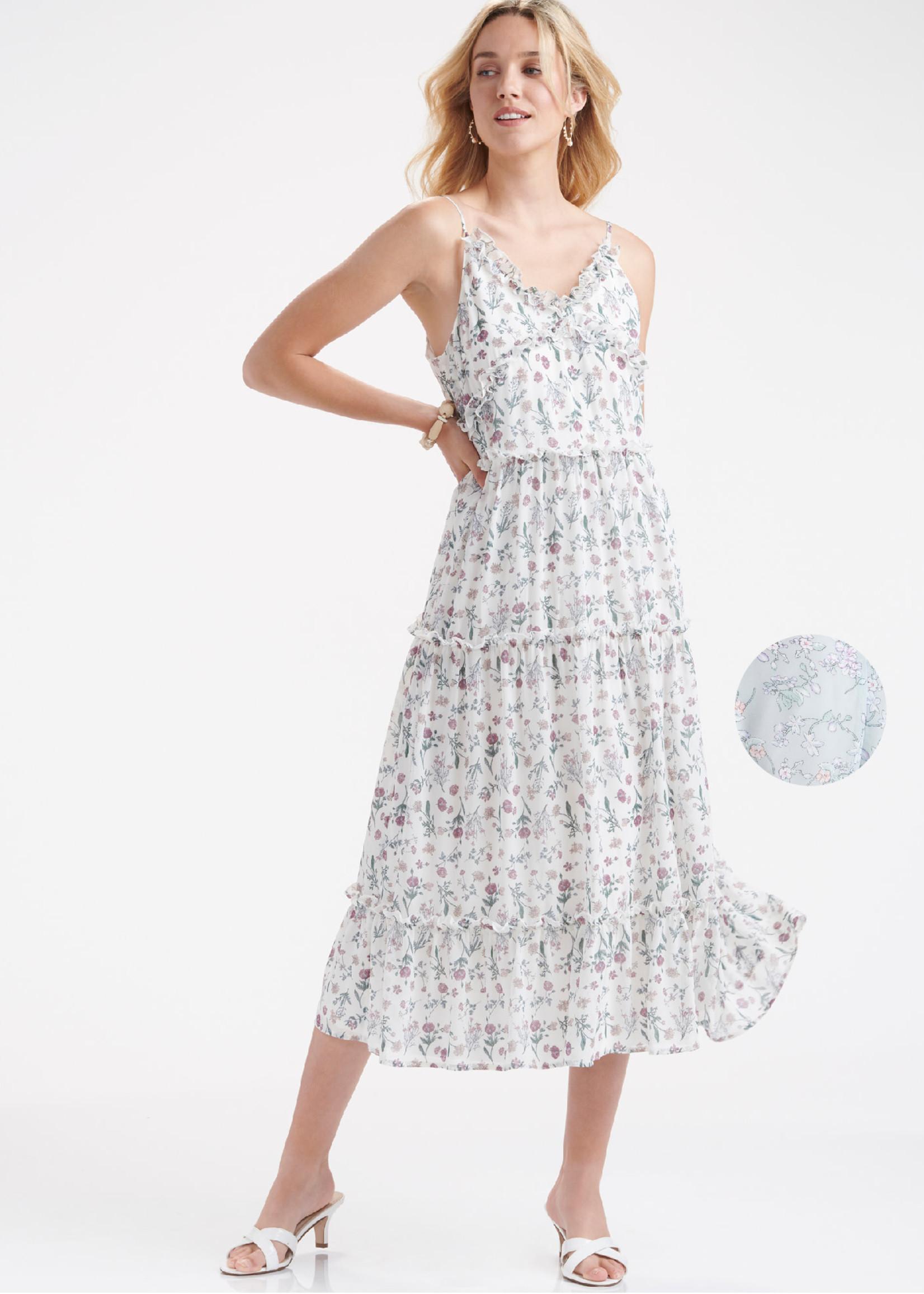 Charlie Paige CP - Floral Print Dress (2 Colors)