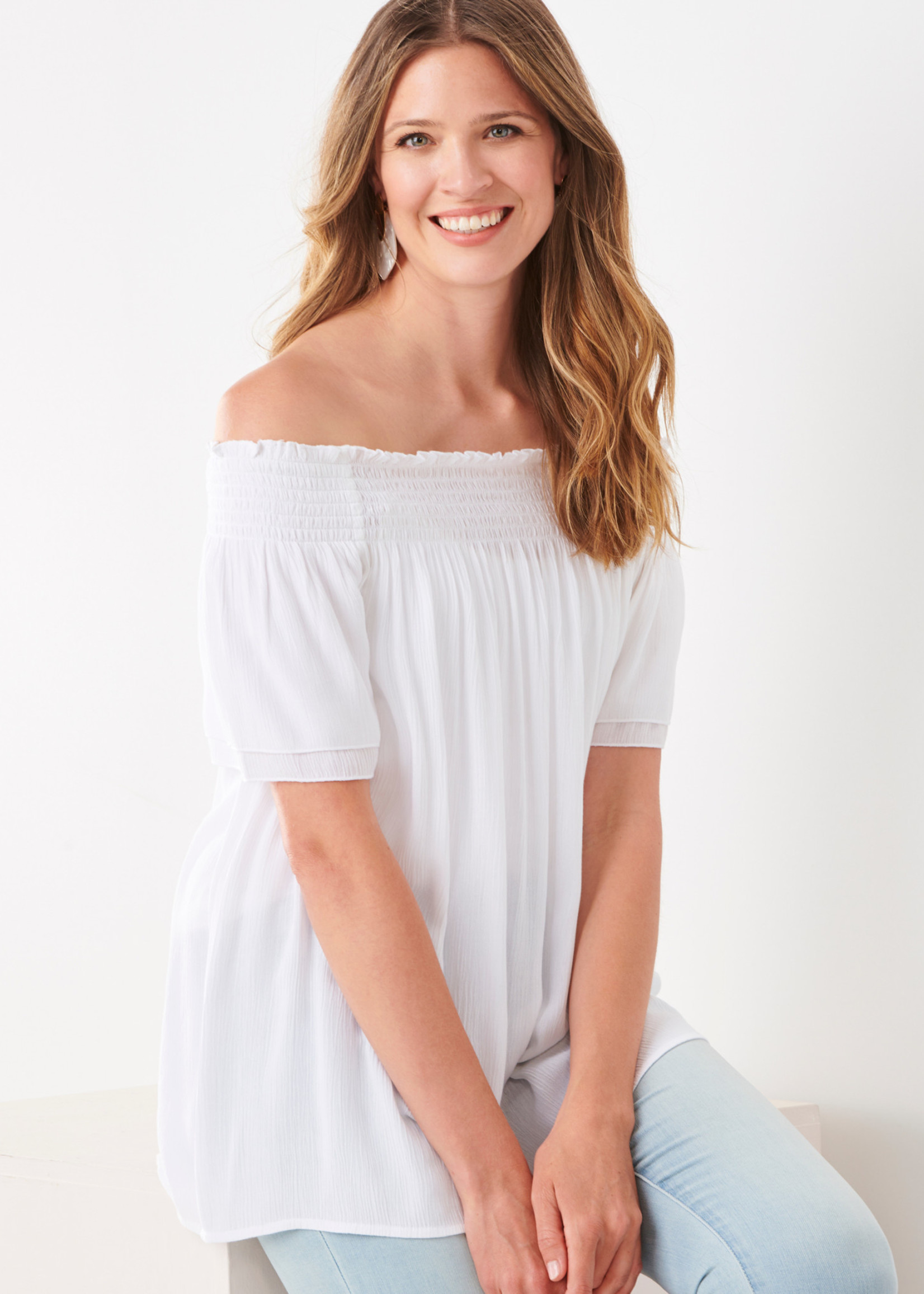 Charlie Paige CP - Woven Top (2 colors)