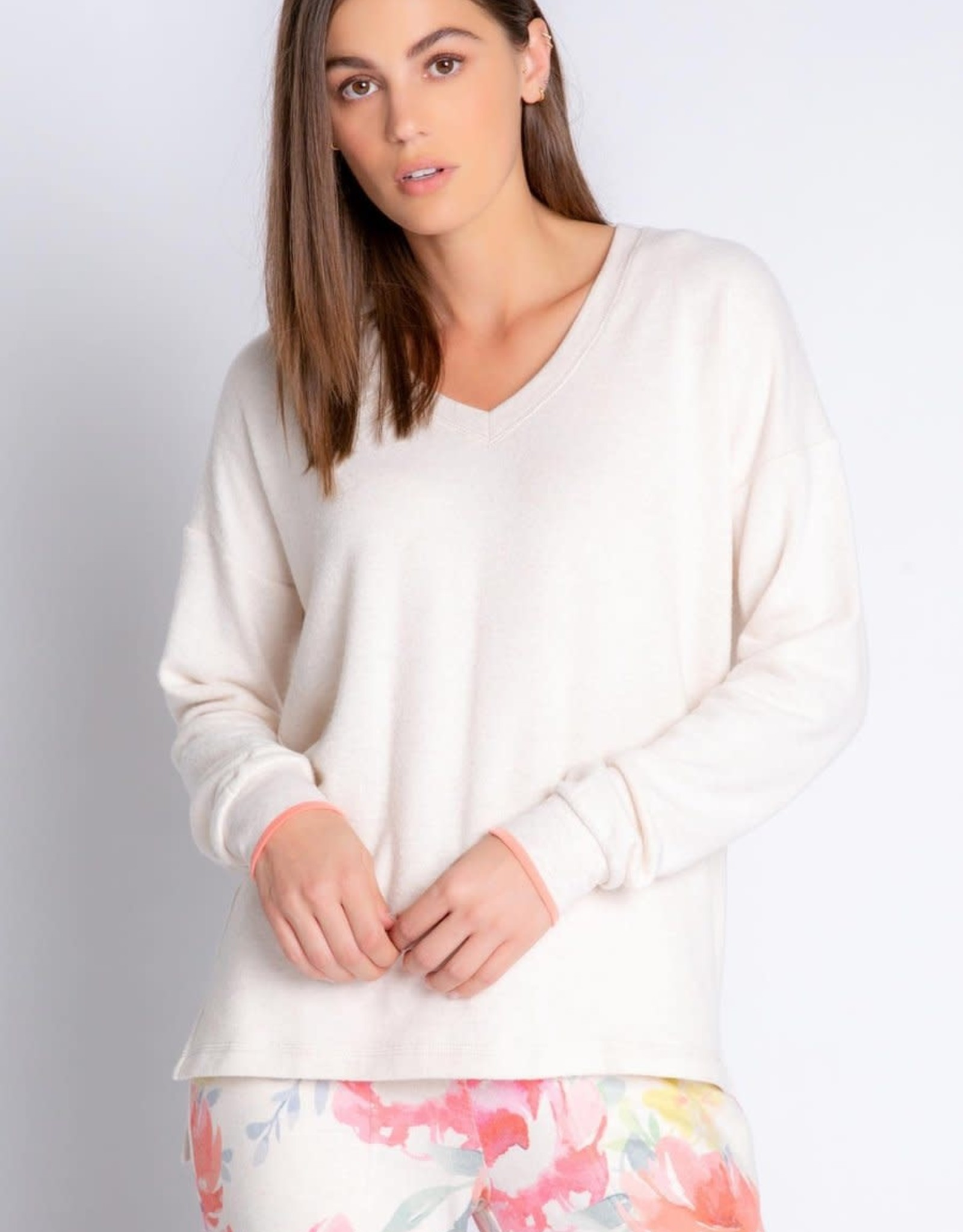P.J. Salvage PJS - Happy Blooms L/S Top