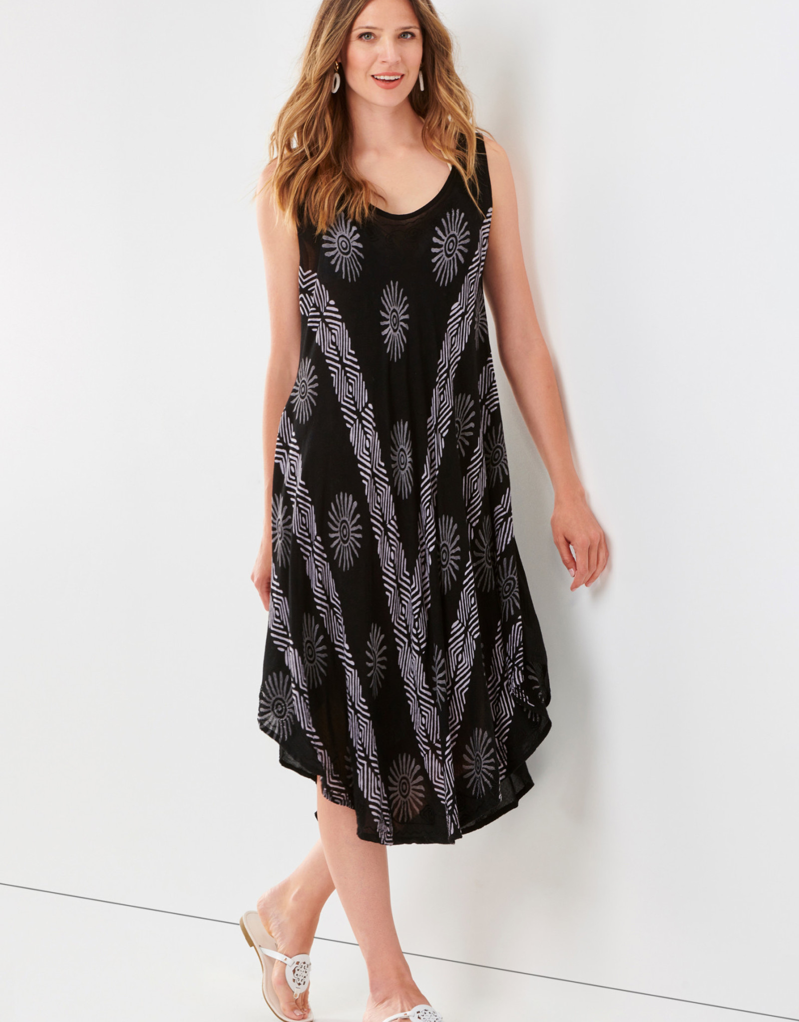 Charlie Paige CP - Woven Print Dress