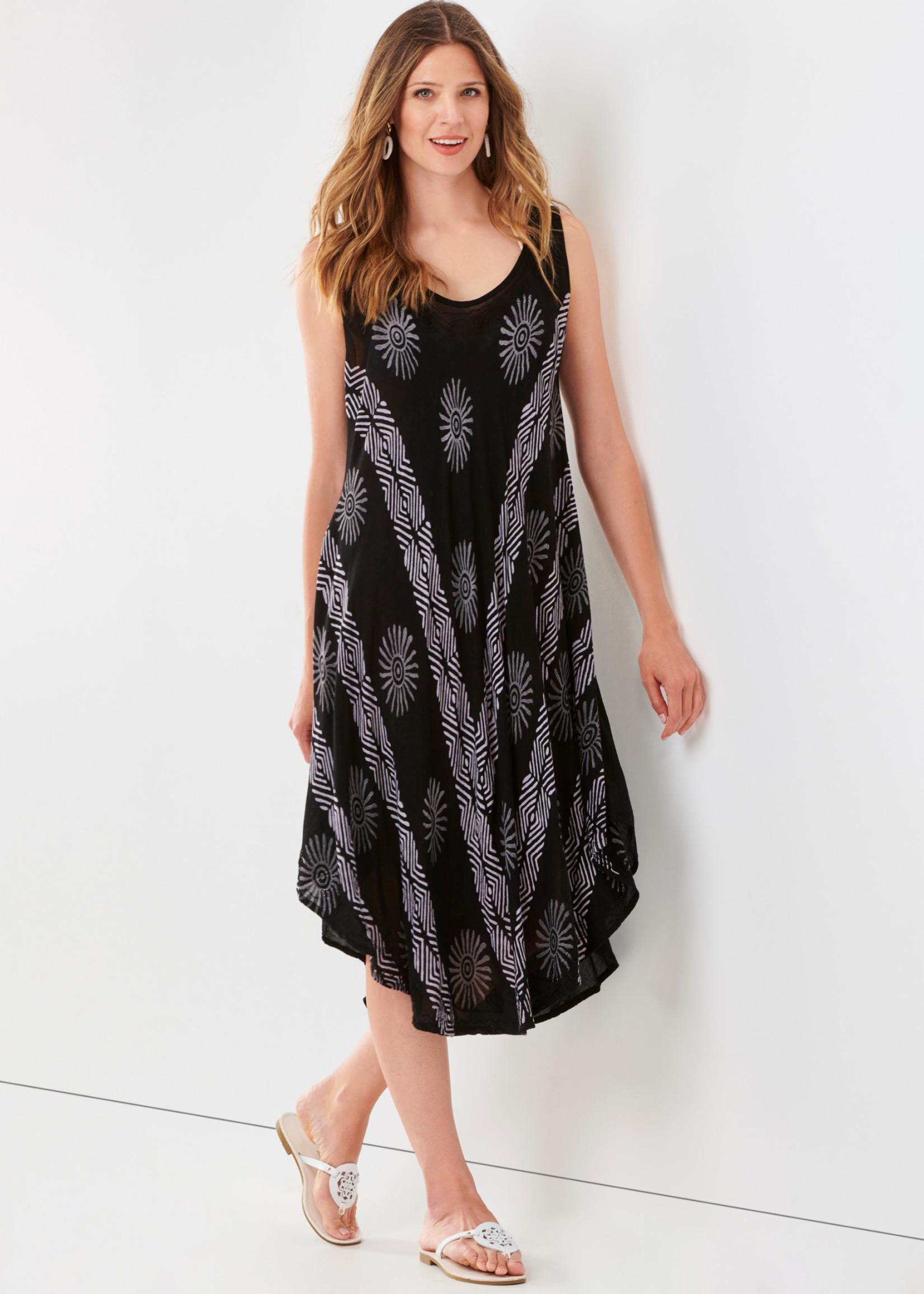 Charlie Paige CP - Woven Print Dress