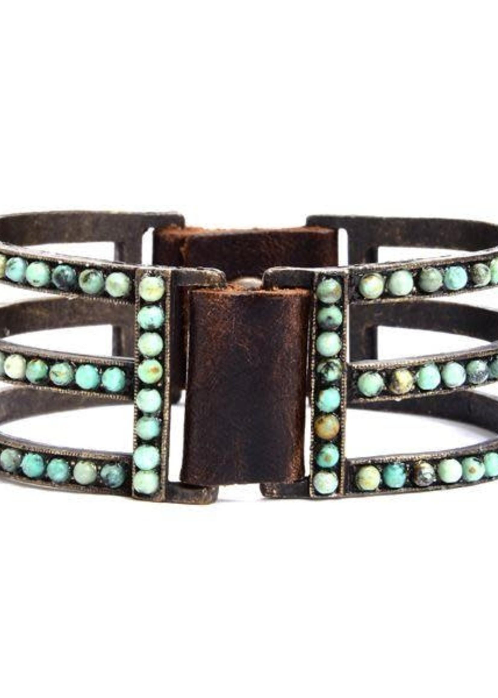 Rebel Designs Rebel - Double Sided Bar Bracelet (1043)