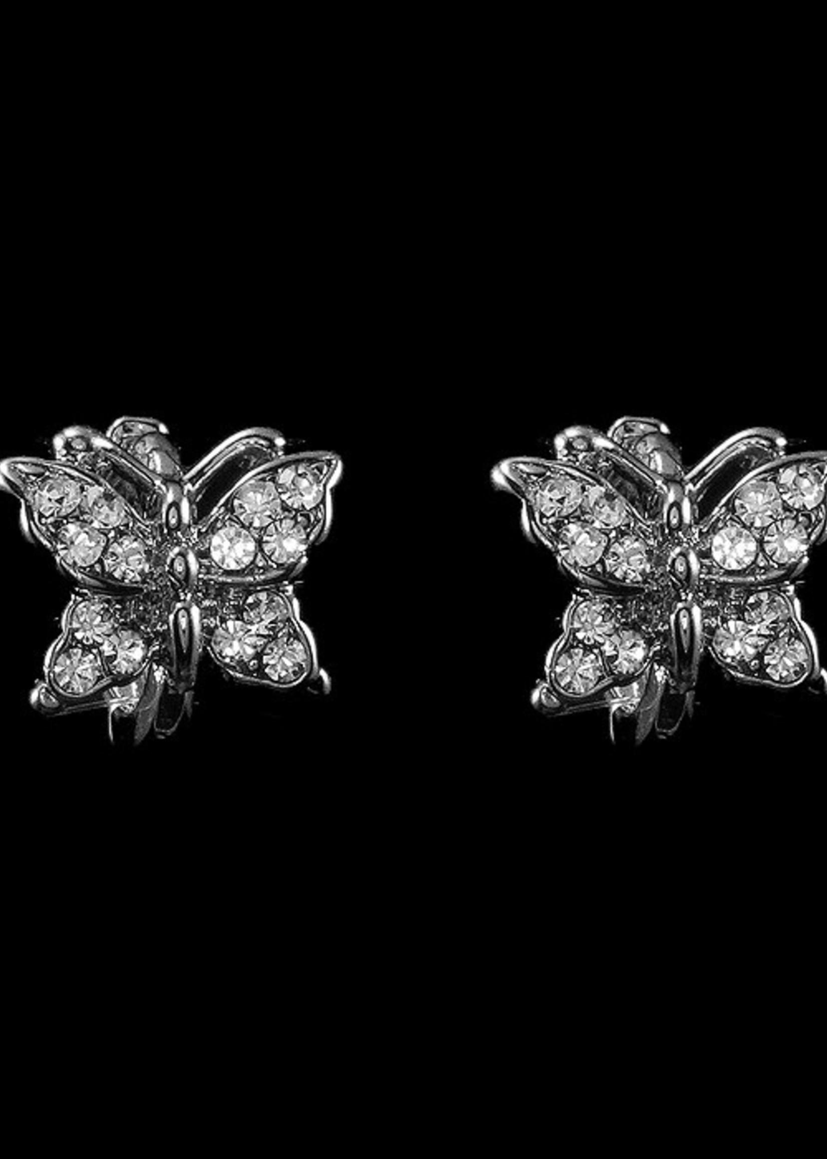 Be-Je Designs Beje - Silver Butterfly Earring (SW250E)