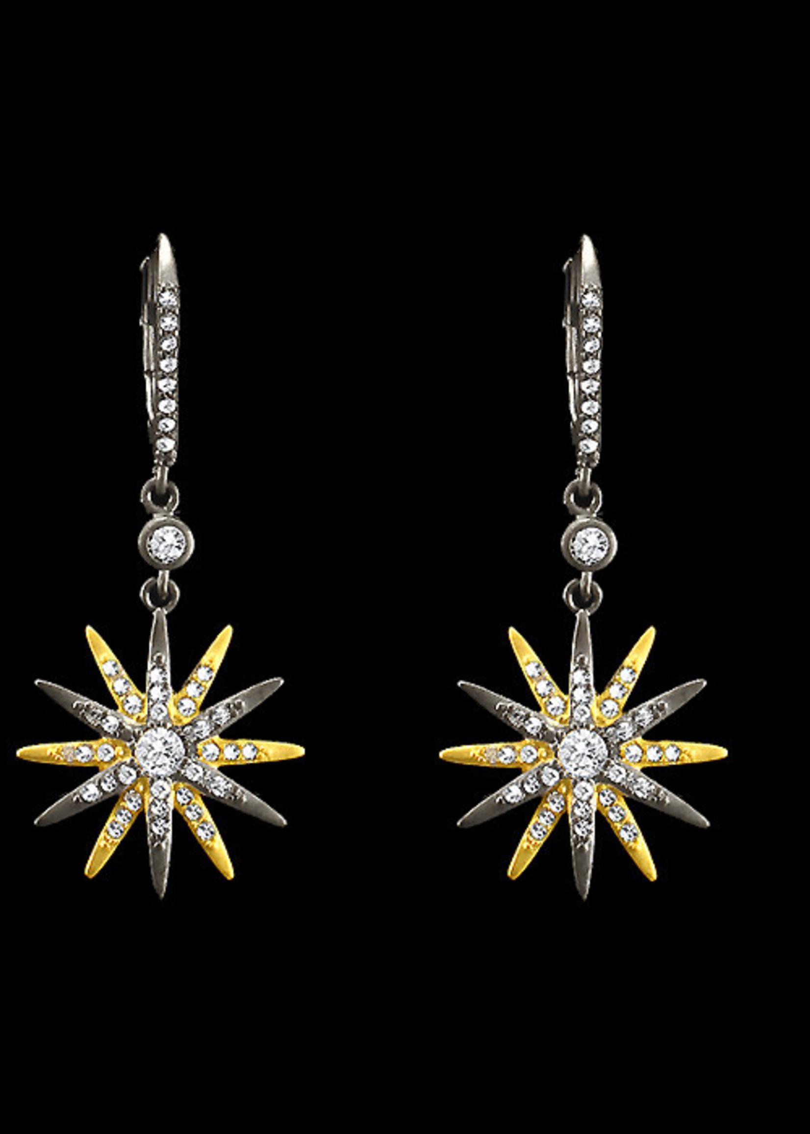 Be-Je Designs Beje - 2Tone Starburst Earring (PU6251E)