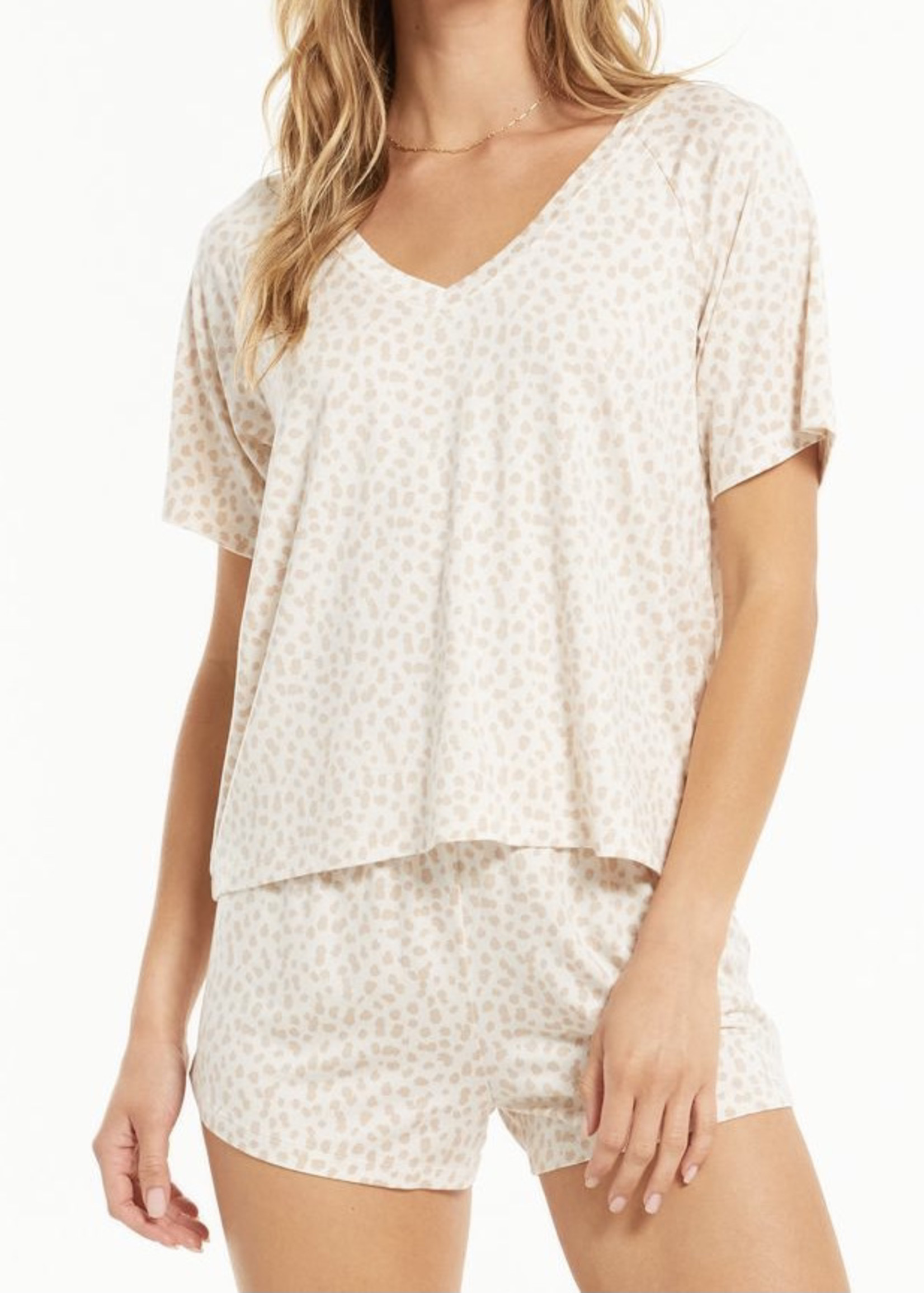 Z Supply ZS - Lay Low Leo V-Neck Top