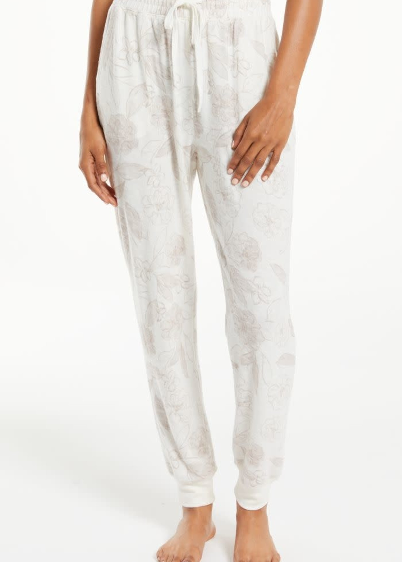 Z Supply ZS - Comfy Floral Jogger
