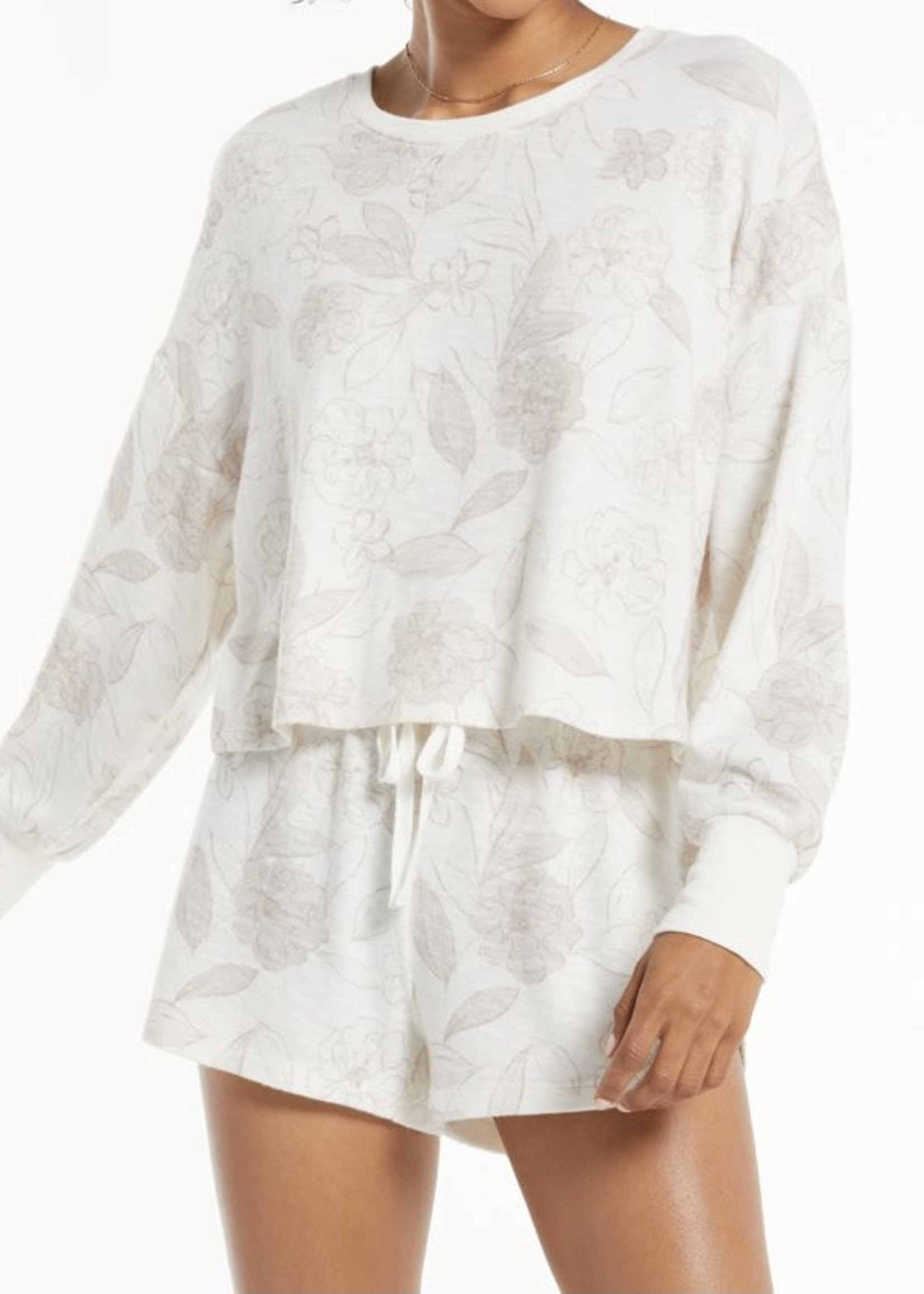 Z Supply ZS - Lina Floral L/S Top