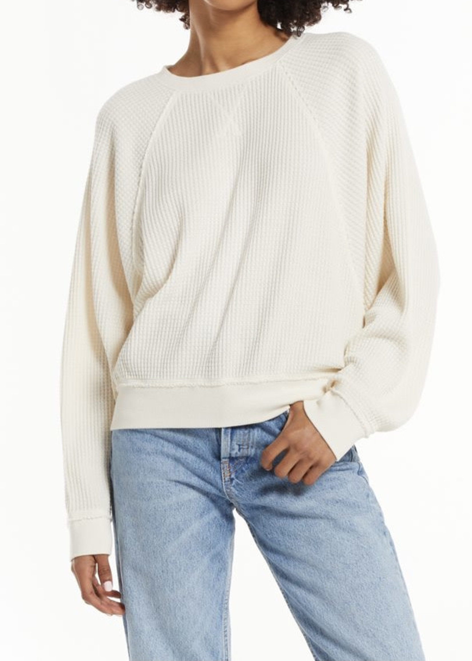 Z Supply ZS - Claire Waffle L/S Top