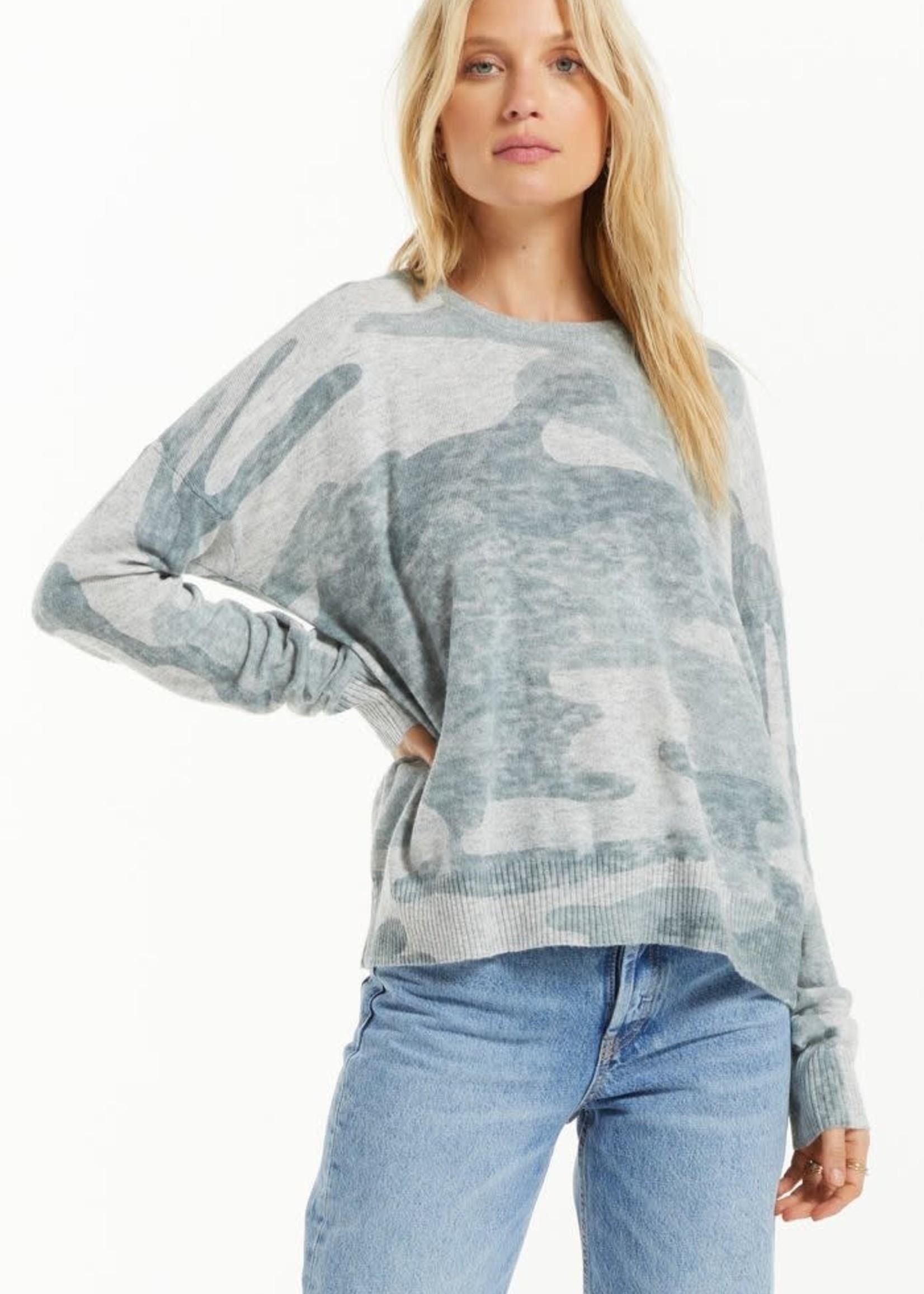 Z Supply ZS - Larisa Camo Sweater