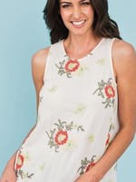Daniel Rainn DR - Lillian Blush Floral Tank