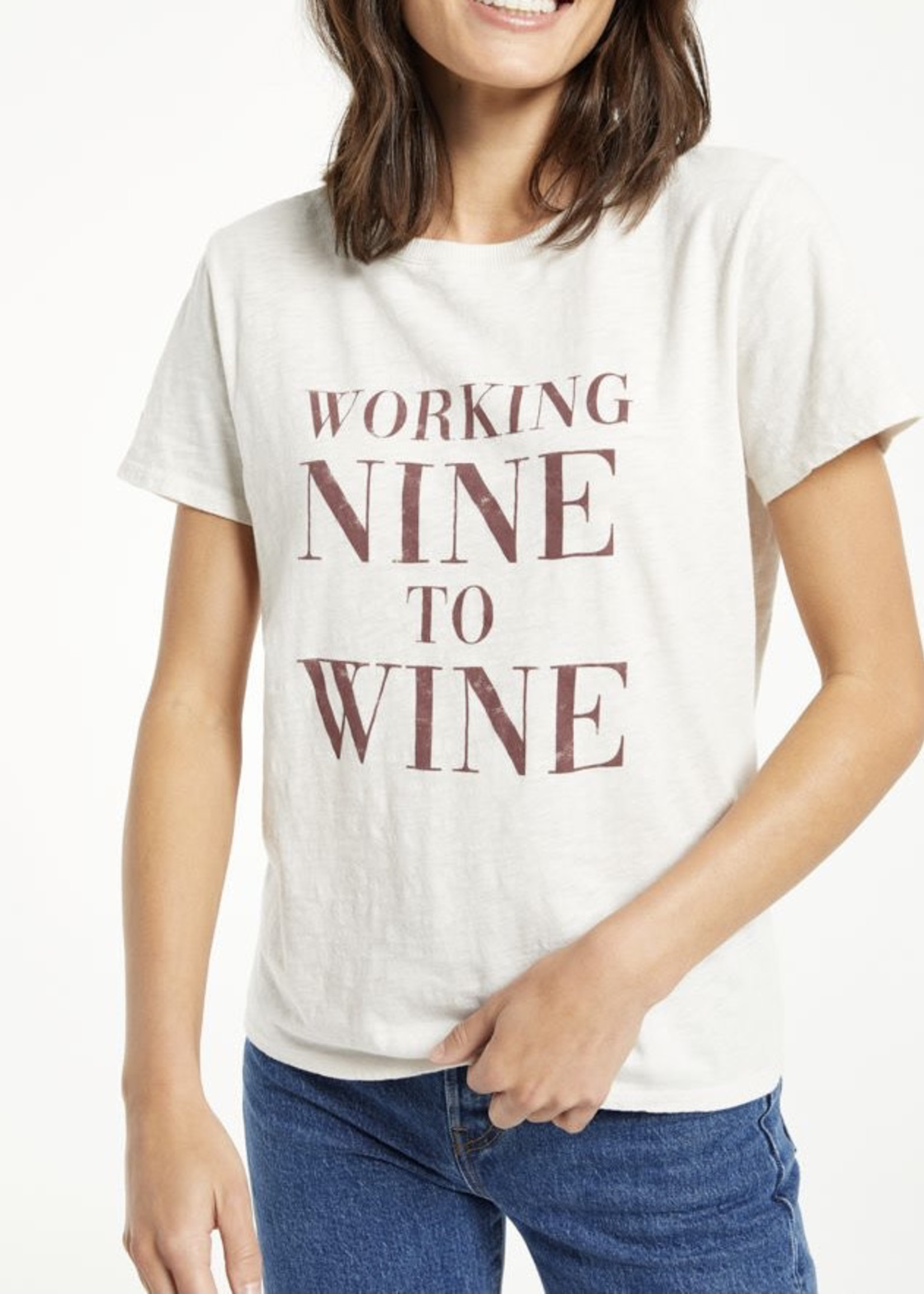 Z Supply ZS - Easy Wine Tee