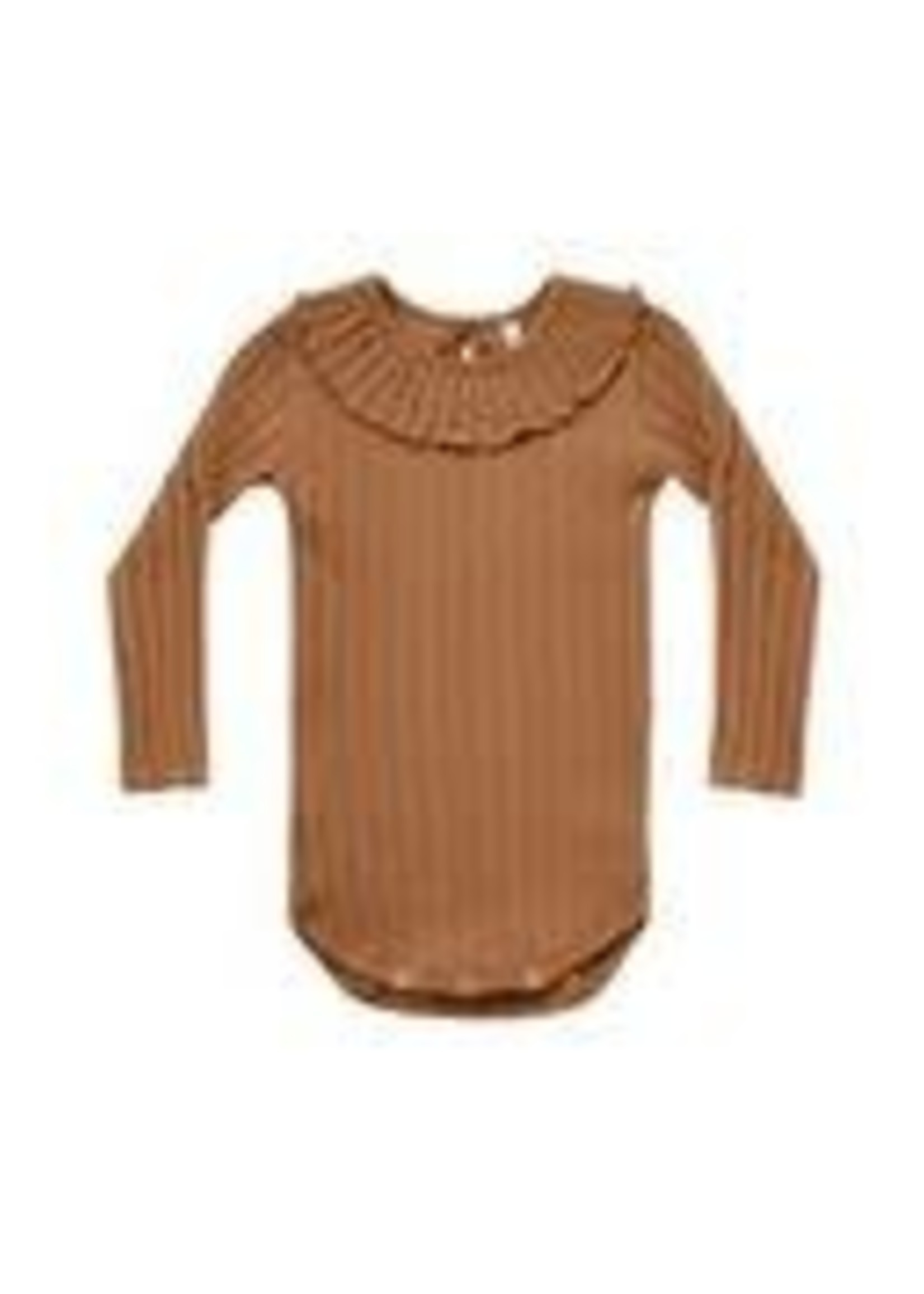 Rylee & Cru R&C - Ruffle Collar Bodysuit
