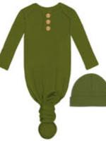Jane Marie Jane Marie - Infant Gown & Beanie Set