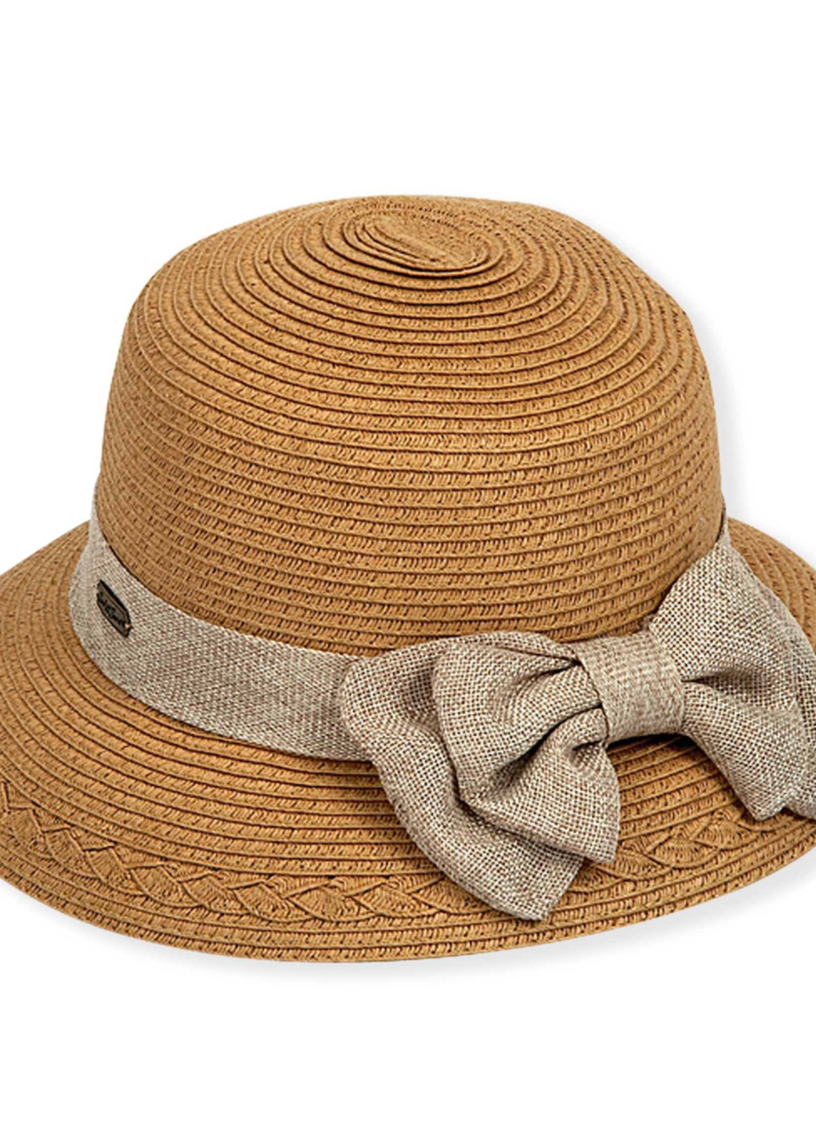 Sun & Sand SS - Gia Paperbraid Hat w/Bow (HH1230)