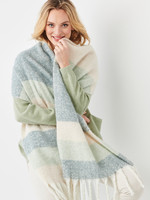 Charlie Paige CP - Woven Sage Scarf