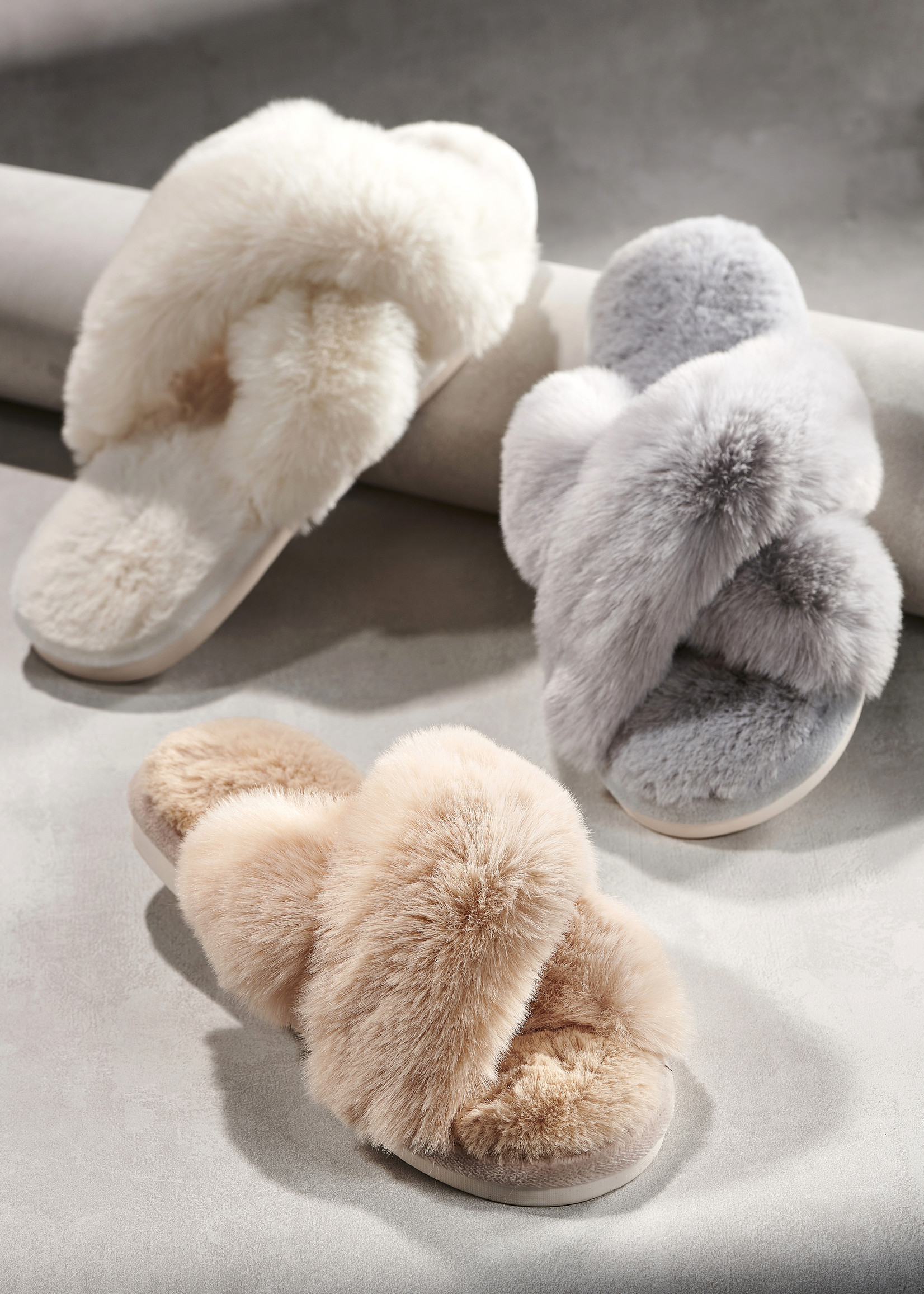 Charlie Paige CP - Fur Slippers