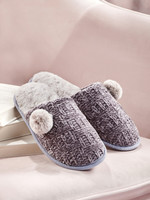 Charlie Paige CP - Chenille Slippers (2 colors)