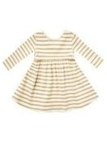 Quincy Mae Quincy Mae - Ribbed L/S Dress