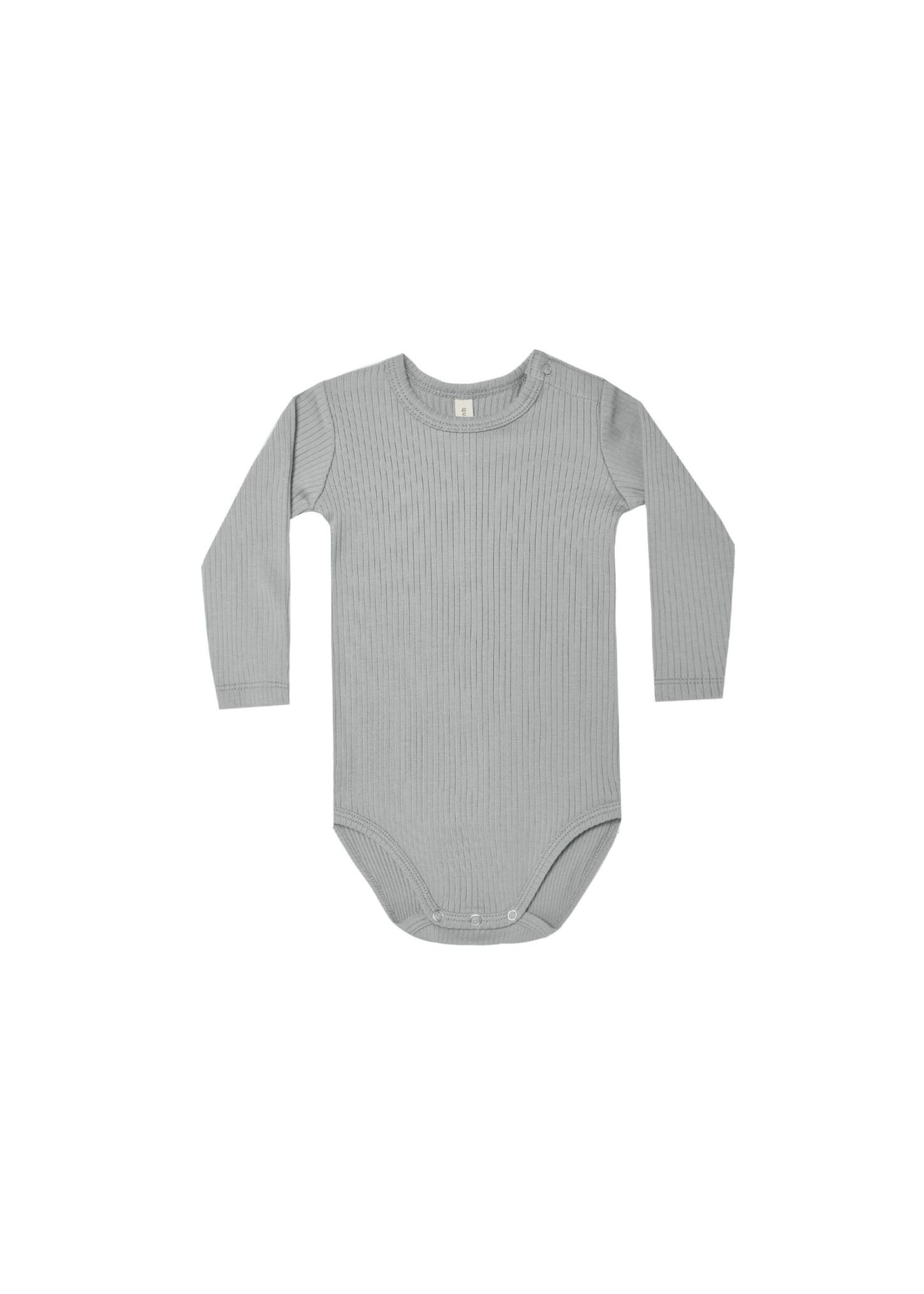 Quincy Mae Quincy Mae - Ribbed L/S Bodysuit