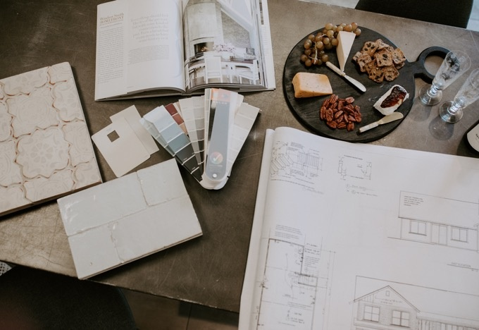 Olive + Rose interior design ideas for an upcoming project with Erika Altes at the Ceramic Tile Center in Santa Rosa
