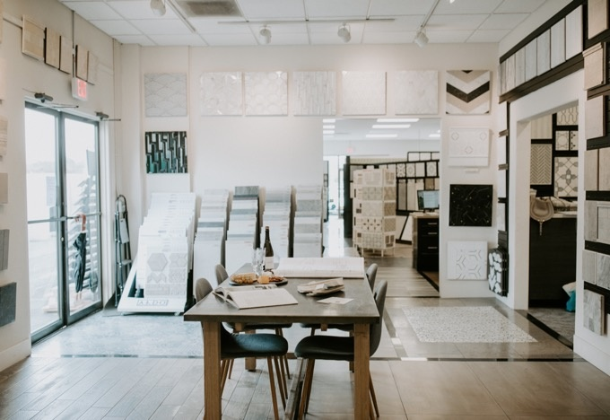 Tons of options to choose from at the Ceramic Tile Center