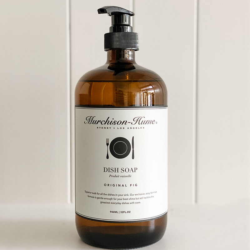 Murchison- Hume Glass Heirloom Dish Soap- Original Fig
