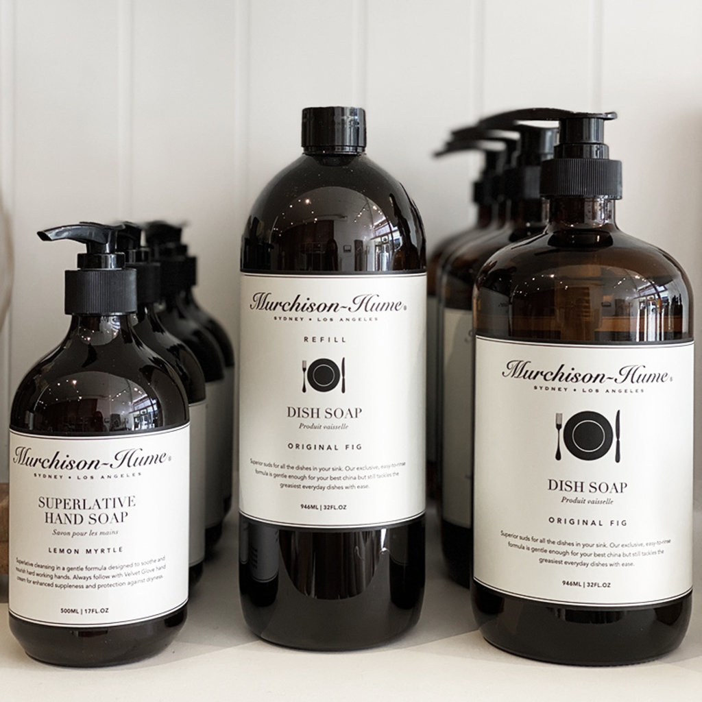 Murchison- Hume Heirloom Dishsoap Refill, Original Fig 32 oz