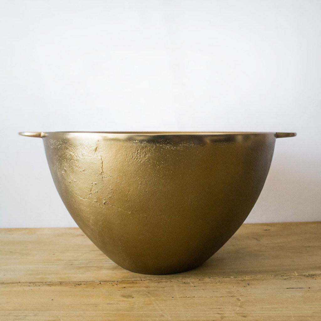 Antique Brass Party Bucket