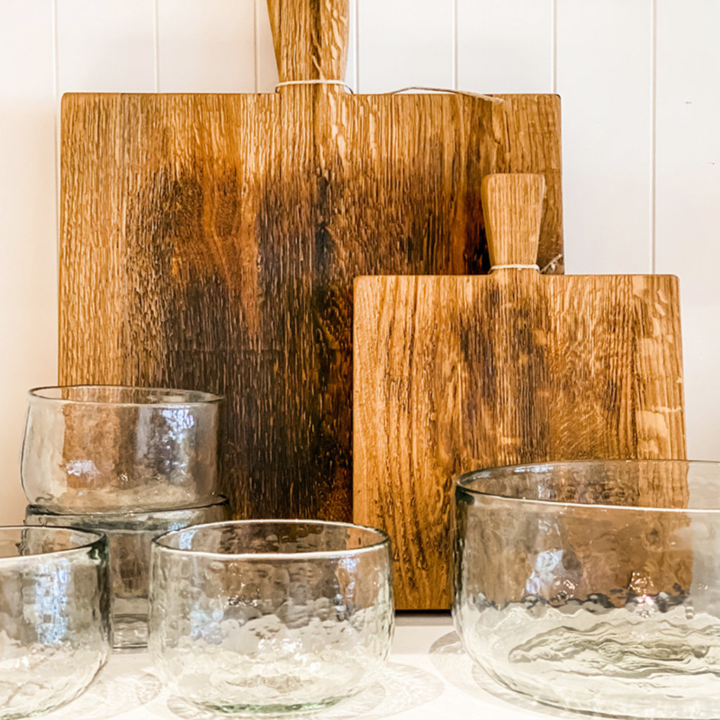 The Collective Pebbled Glass Bowl